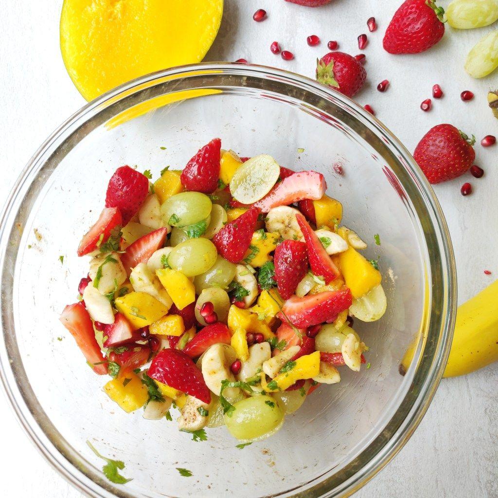 Healthy Fruit Salad - Fruit Chaat