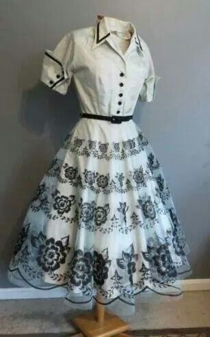 Vestido anos 60