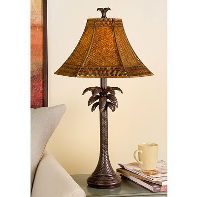 Home Decor Lamps At Kohlu0027s   Shop The Wide Selection Of Lighting At Kohlu0027s,  Including This French Verdi Palm Tree Table Lamp.