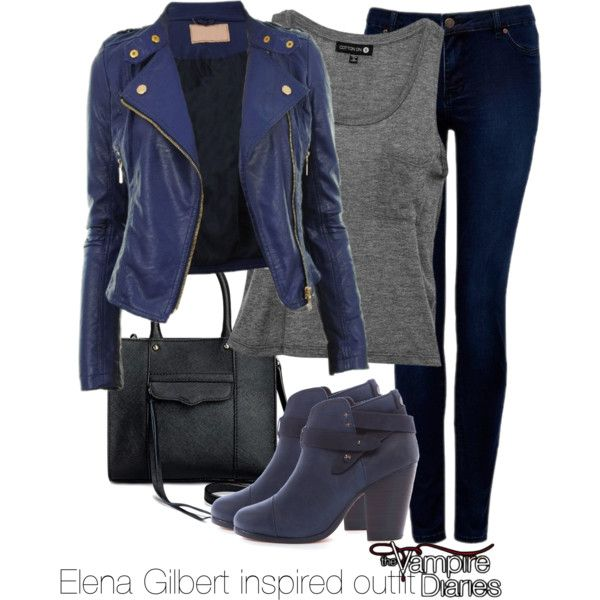 Photo of Elena Gilbert inspired outfit/The Vampire Diaries by tvdsarahmichele on Polyvore…