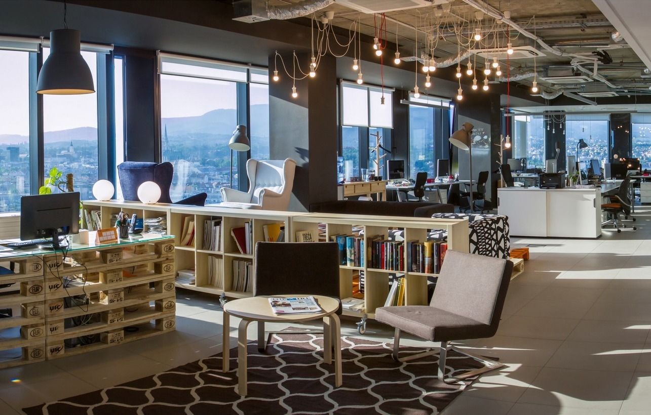 cool office. A Look Inside Grey Entourage\u0027s Cool Office Pinterest