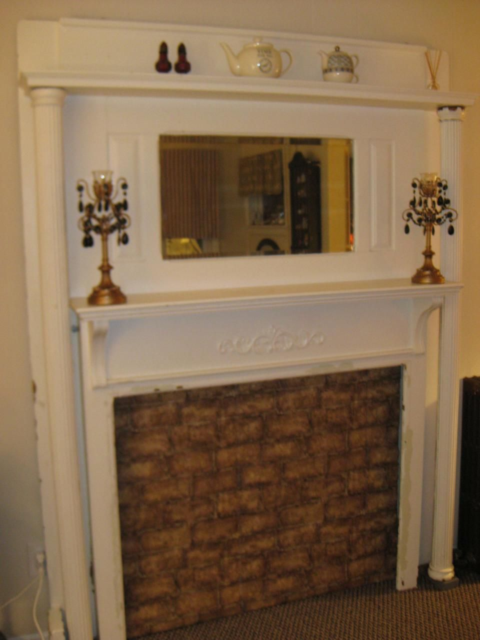 Mantels and Craftsman fireplace