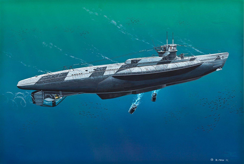 Pin On Ww2 Submarine Paintings