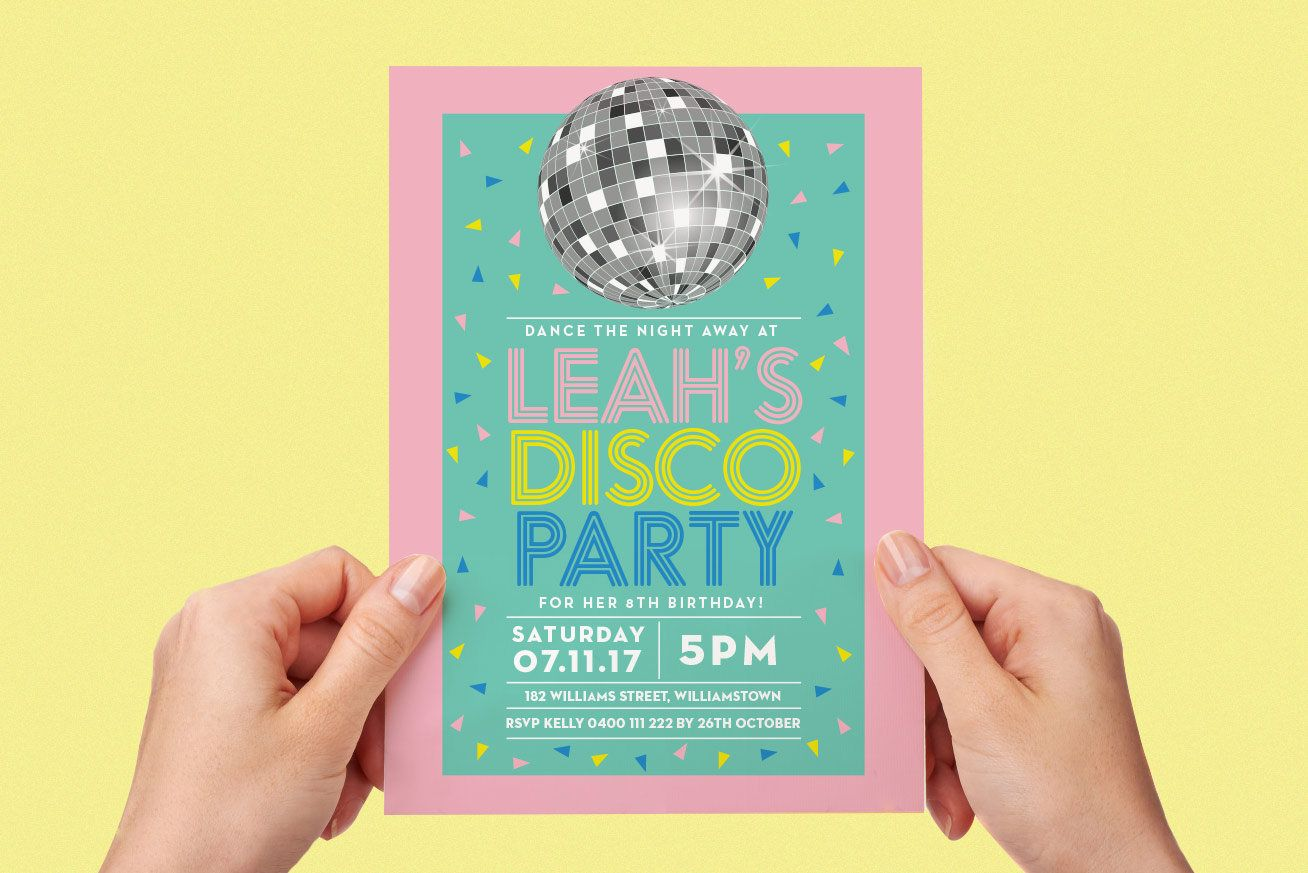 Teen dance party invitation — photo 3