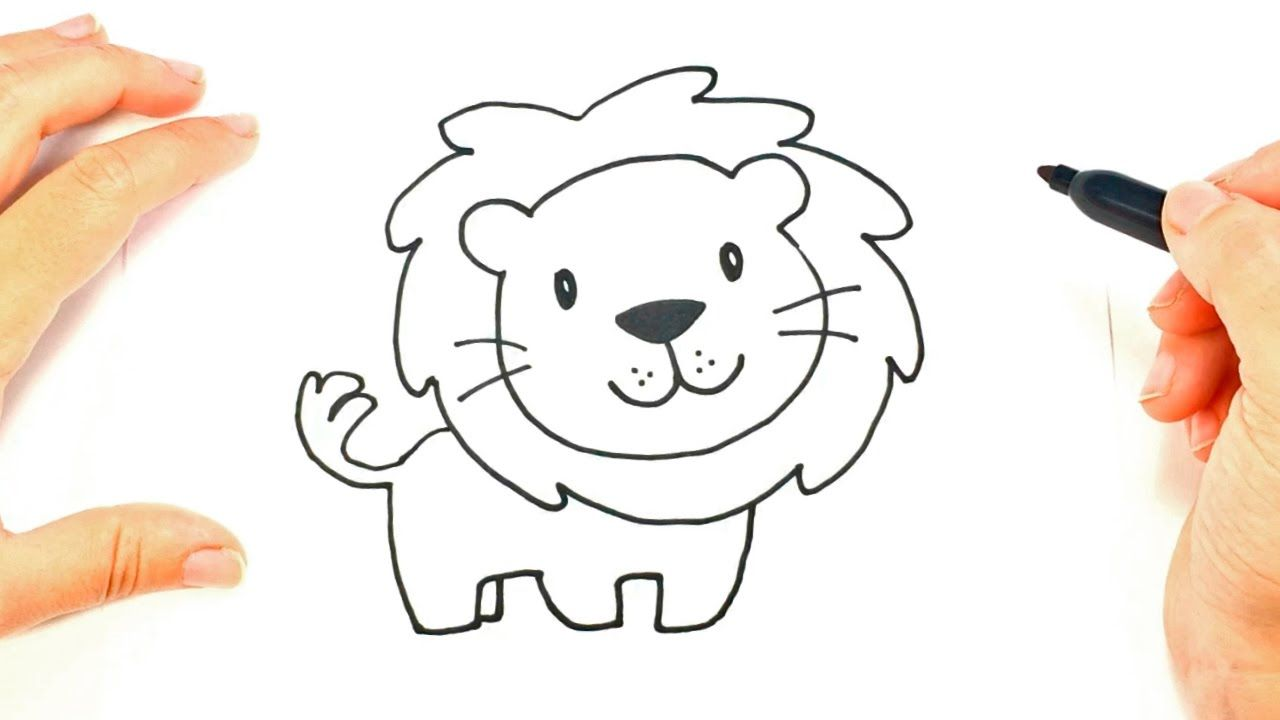 How To Draw A Lion Face Lion Head Easy Draw Tutorial Lion Drawing Lion Drawing Simple Lion Cartoon Drawing Lion drawing outline entry by for freelancer cartoon contest. lion face lion head easy draw tutorial