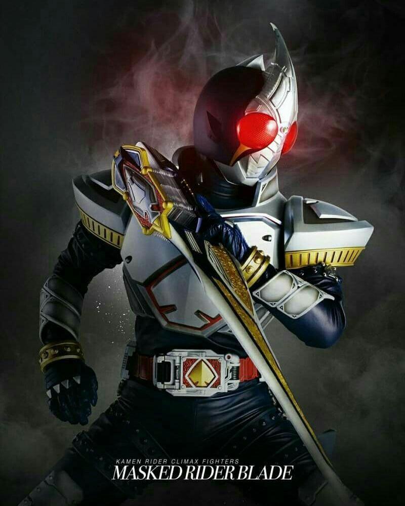 Kamen Rider Blade Pahlawan Super Animasi Gambar