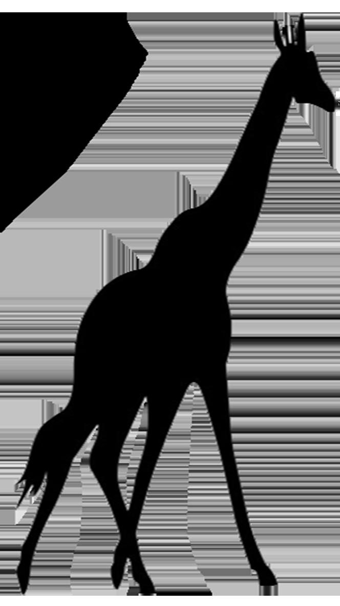 Animal Silhouette Silhouette Clip Art Animal Silhouette Giraffe Art Giraffe Silhouette