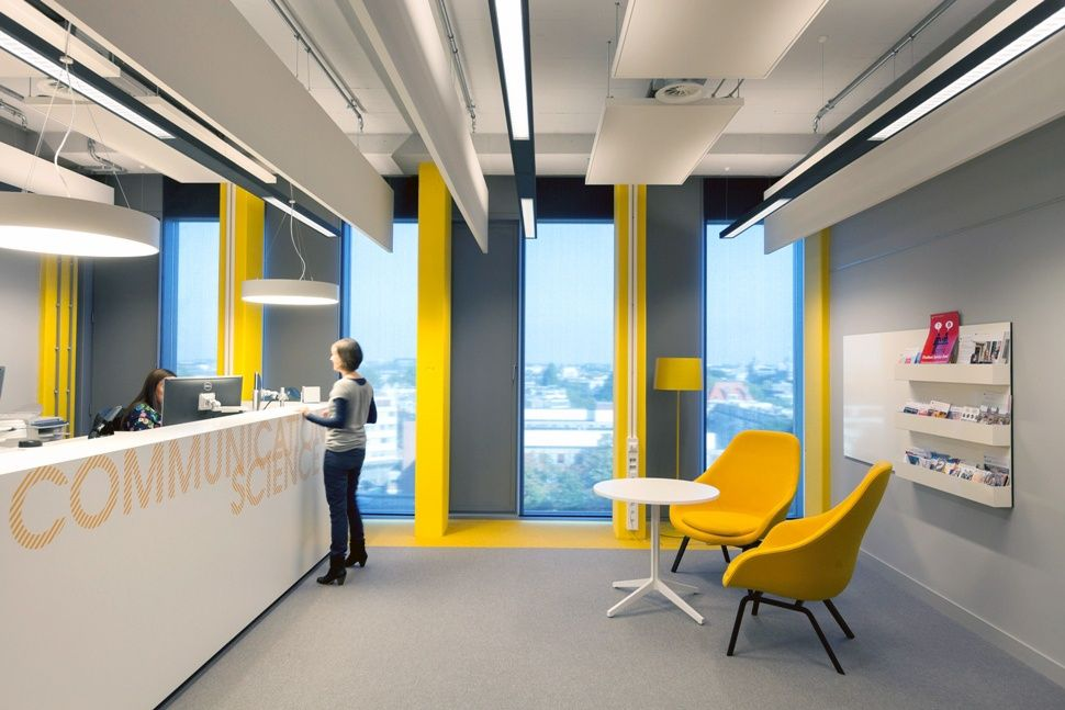 Design Is Too Slick Though UvA Roeterseiland Interior By Fokkema Partners Amsterdam Netherlands Office
