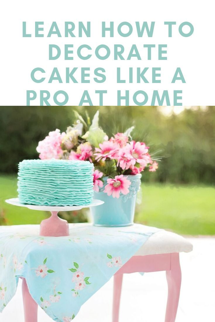 Become A Pro Cake Decorator Without Leaving The House With These Great Online Cake Decorating Courses Free Wedding Venues 16th Birthday Wedding Guest List