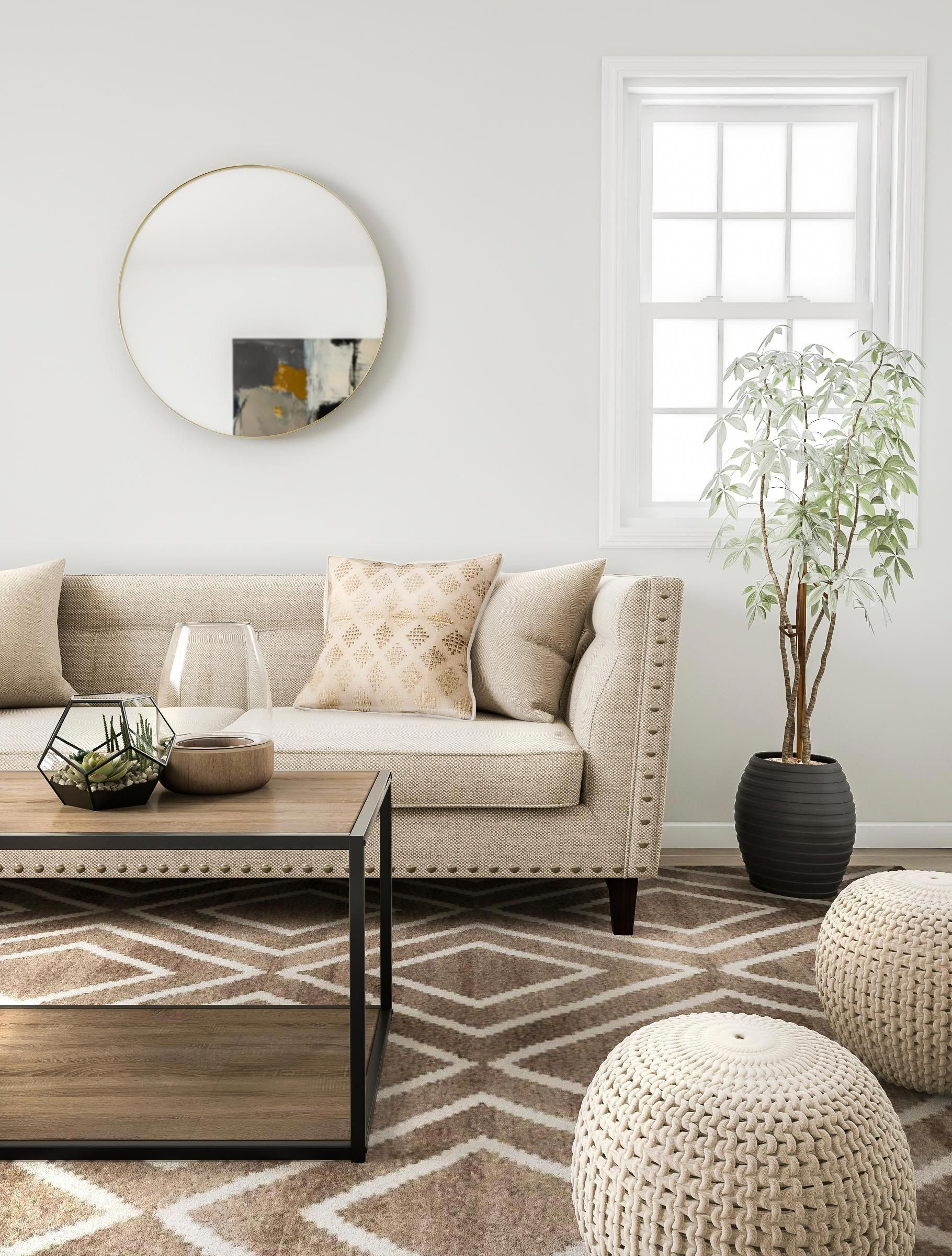 Redecorating Living Room: Redecorate Your Living Room This Weekend. The Warm-toned