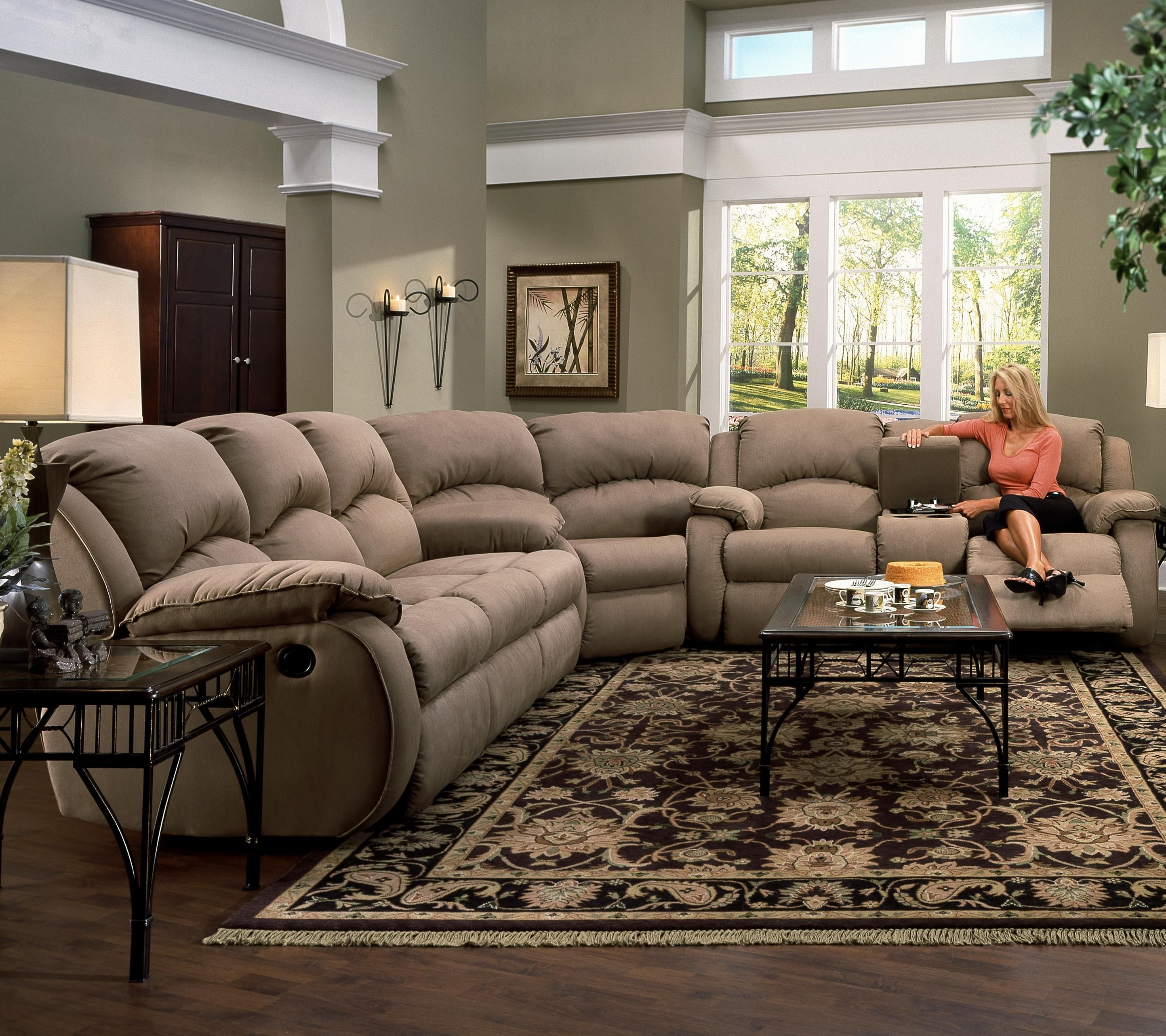 Cagney Sectional Sofa by Southern Motion Home Ideas