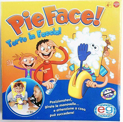 Pie Face Game - Jeu de société Tarte à la Crème Version Anglaise Rocket Games