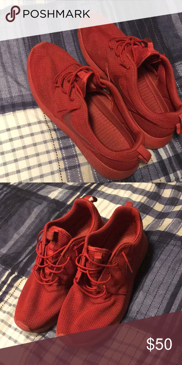 detailed look 847be 70513 Nike Roshe Varsity Red, Size 11.5, Nike Shoes Athletic Shoes ...