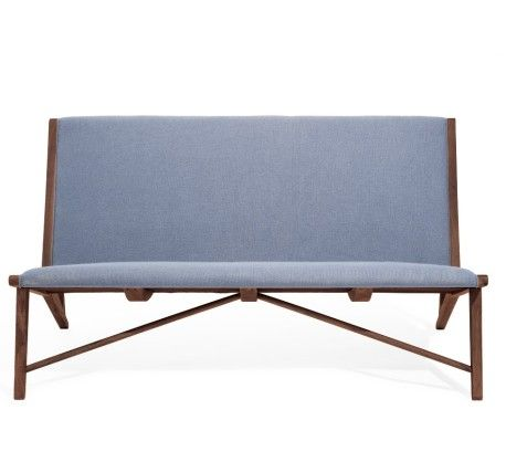 Oslo | Organic Modernism. $1495. Somewhere between church pew, beach chair, and couch. Might convince us to get up off the couch. Starting to like this plan.