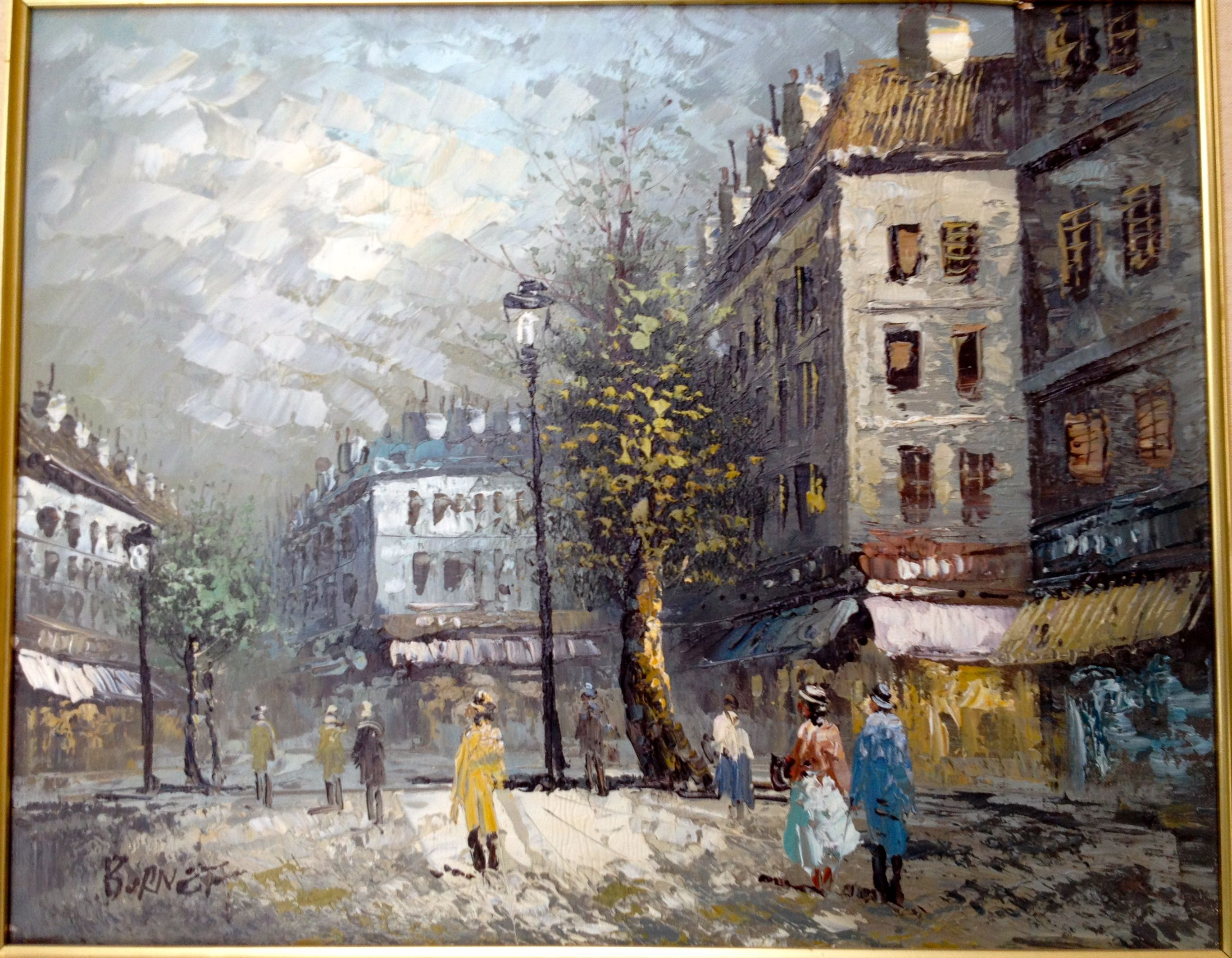Caroline Burnett Original Painting Oil Painting