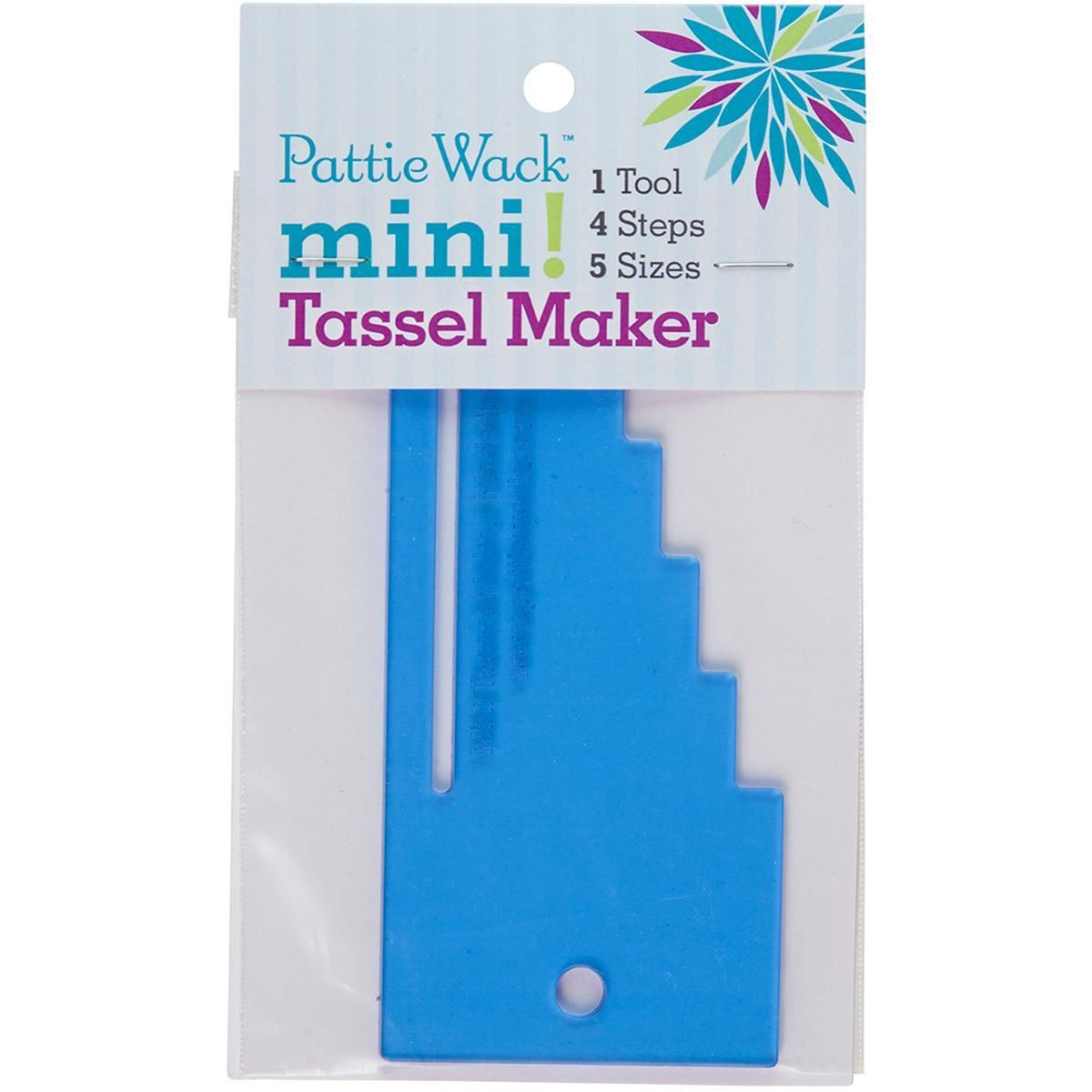 Pattiewack Designs Mini Tassel Maker 5.5 X2.5 -