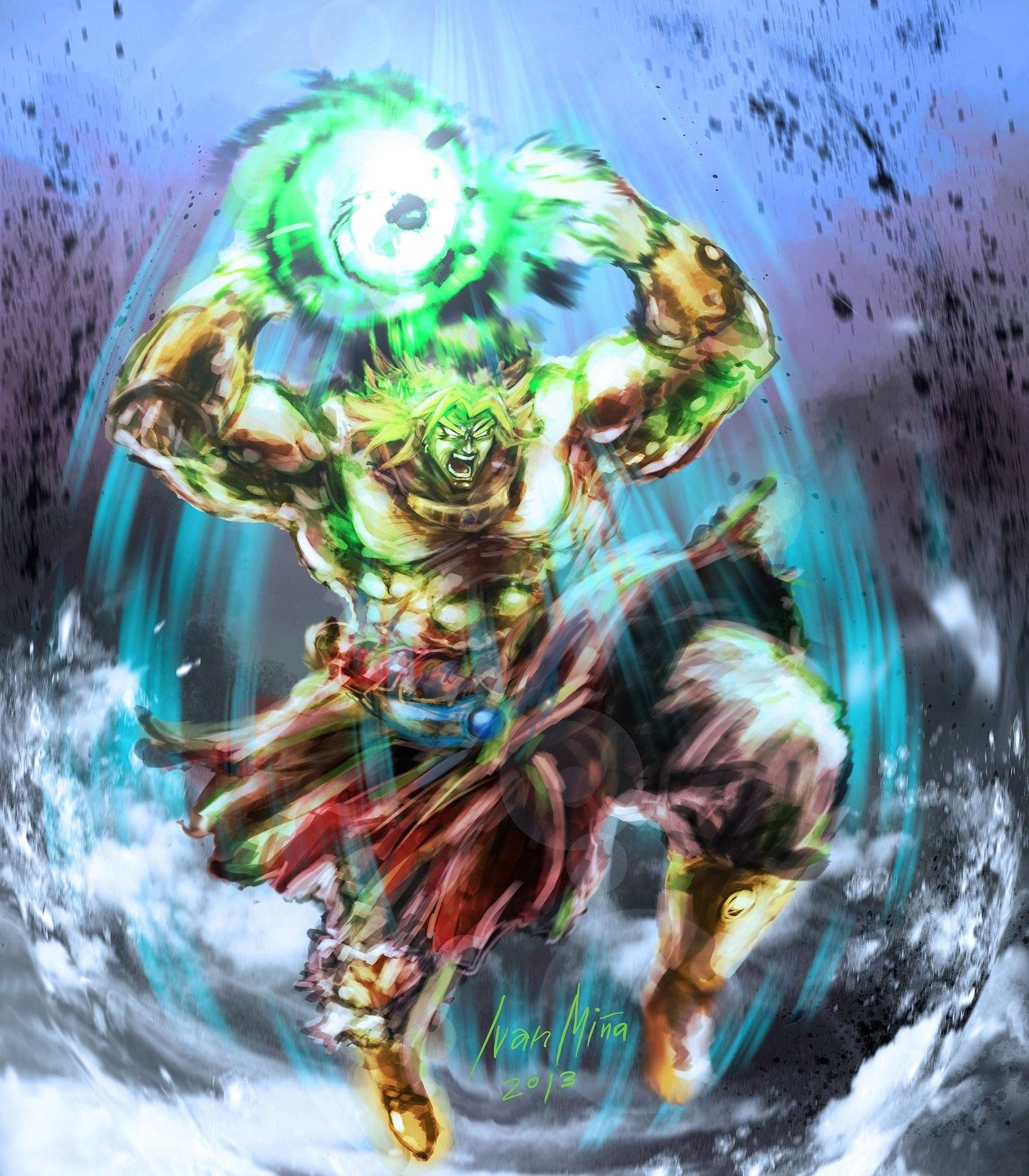 Dragon Ball Z Broly Wallpaper Mobile 3yakp With Images Dragon