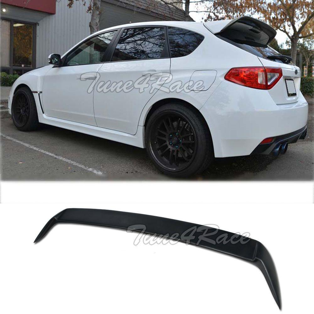 For 08-14 Subaru Impreza WRX STI Hatch Rear Spoiler Wagon Kit ...