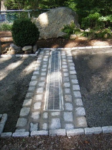 Attractive Way To Hide Driveway Drain Home ☆ Driveway