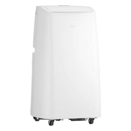 LG 8,000 BTU 115V Portable AC with Dehum, White, Certified