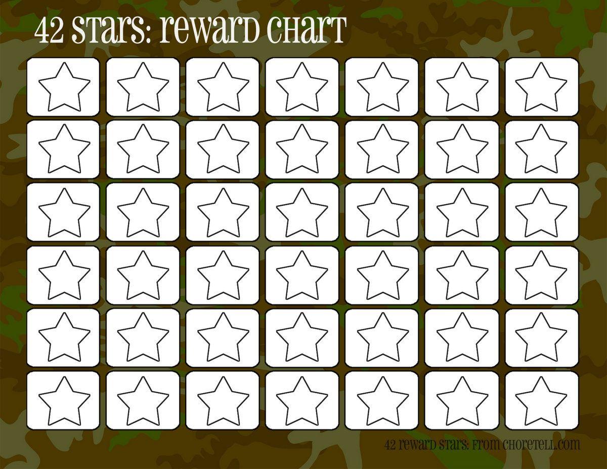 Superhero Reward Chart//Jar Complete With Jar /& Stars Square Shape