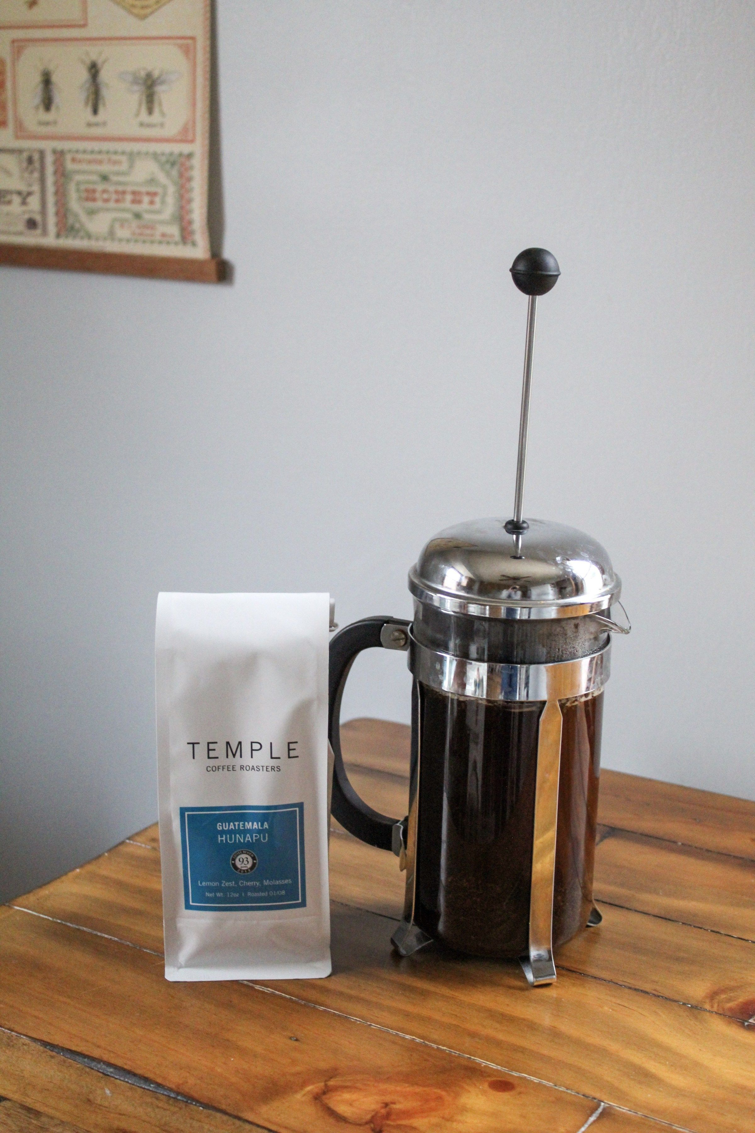 How to brew coffee with a french press the york pack