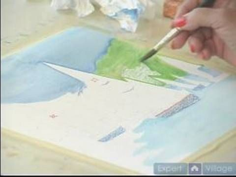 How To Watercolor With Aquarelles How To Paint A Background With