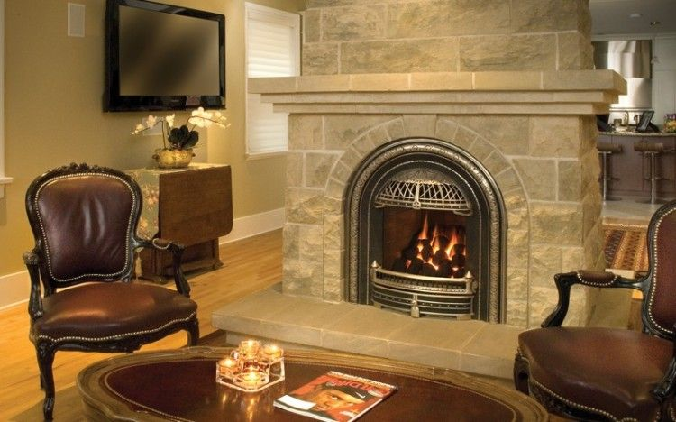 10 Inspiring Replace Wood Fireplace With Gas Snapshot Ideas Wood