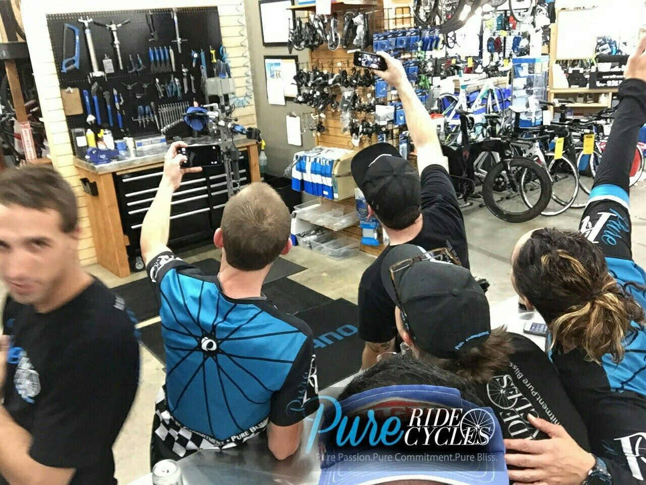 Shameless selfie good bye, to a lovely Easter weekend.  We appreciate all that passed through our doors. . #purepassion #purecommitment #purebliss #pureridecycles 2017