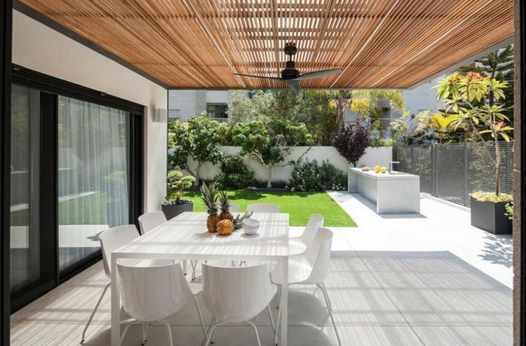 ideen gartengestaltung modern terrassen beispiele