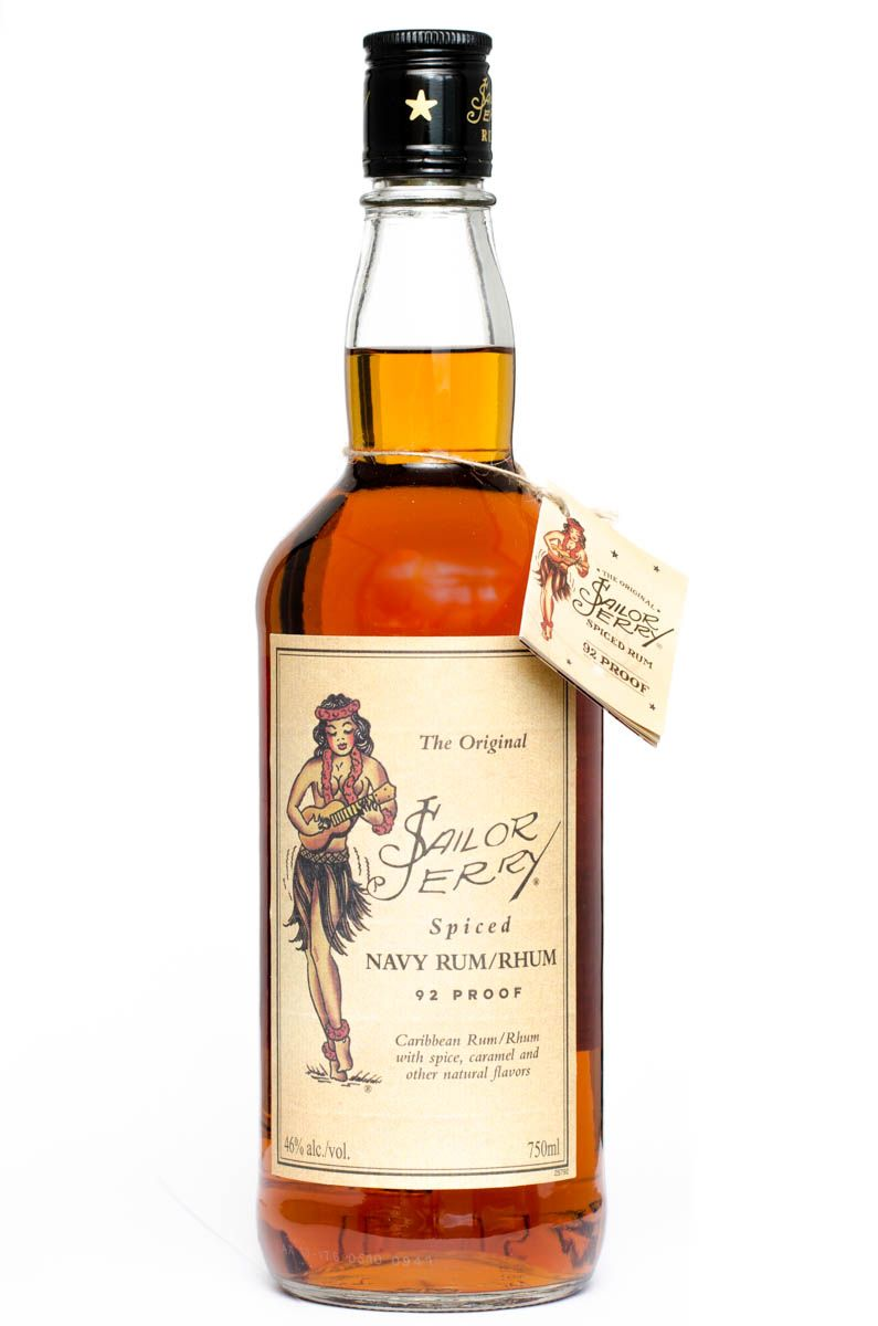 Sailor Jerry Spiced Navy Rum - Sailor Jerry - Wikipedia, the