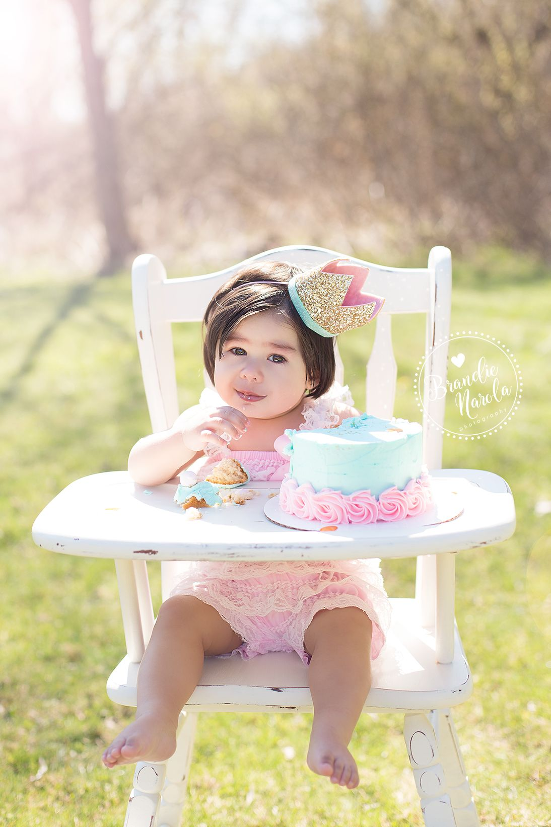High Chairs For Girls Karma Living Butterfly Chair Cake Smash Outdoor Session In