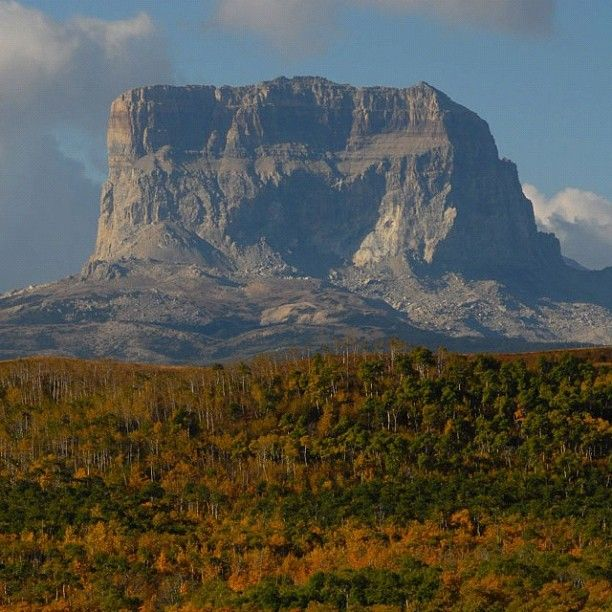 Hiking Tours Usa: We Didn't Visit Chief Mountain On Our Glacier National