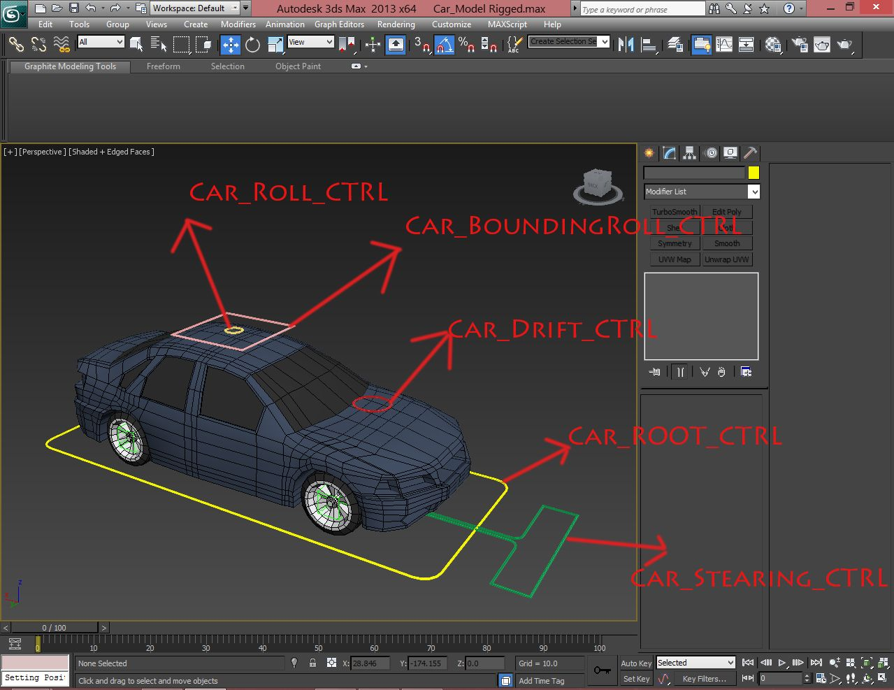 inspirational flex muscles rigging in 3ds max tutorial car rigging 3ds max tutorial 视频 3ds max 265