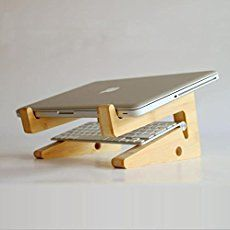 Make A Wooden Laptop Stand Woodworking Project Wooden Laptop Stand Laptop Stand Computers Tablets And Accessories