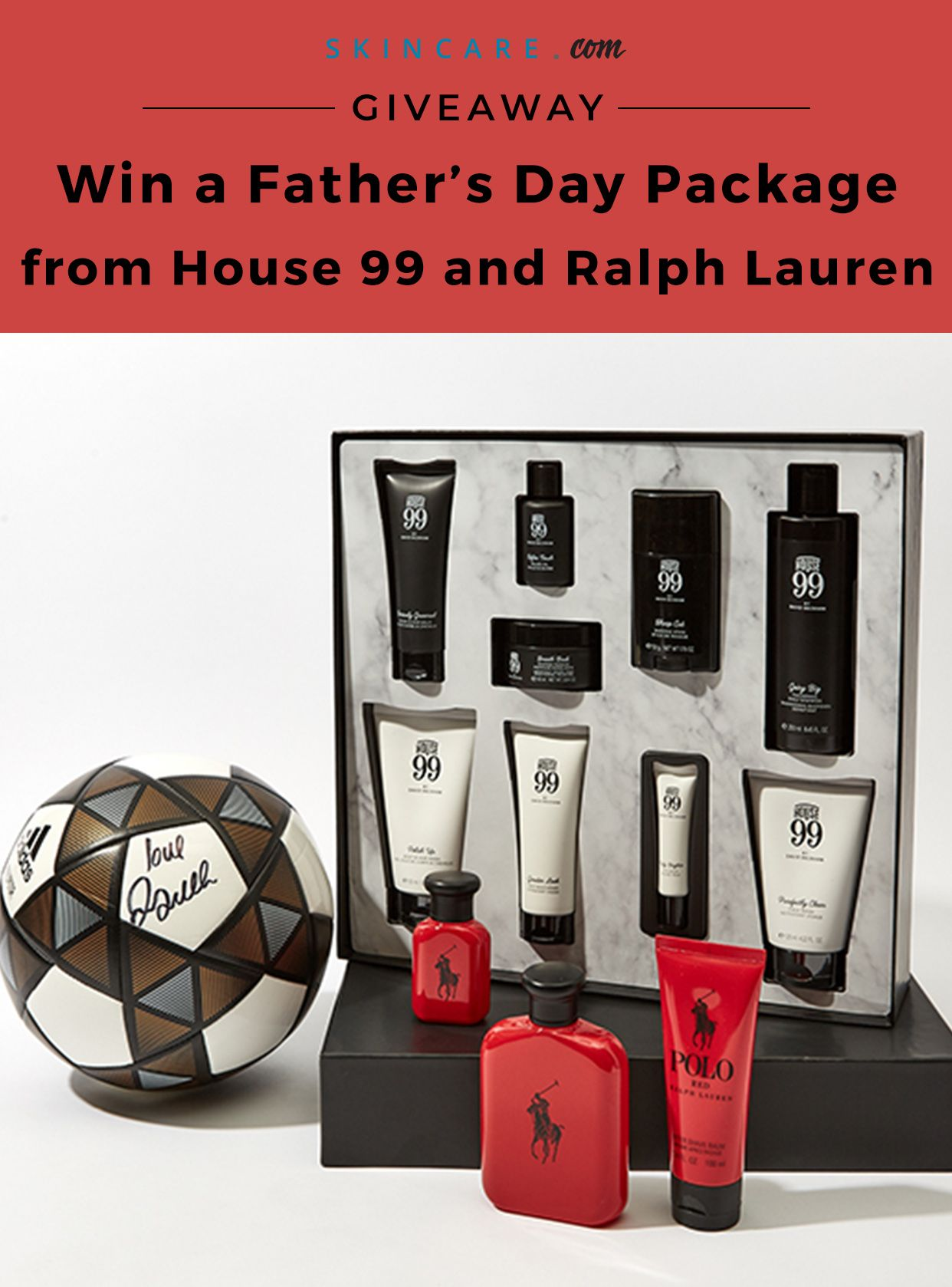 Father's Day Giveaway With House 99 and Ralph Lauren