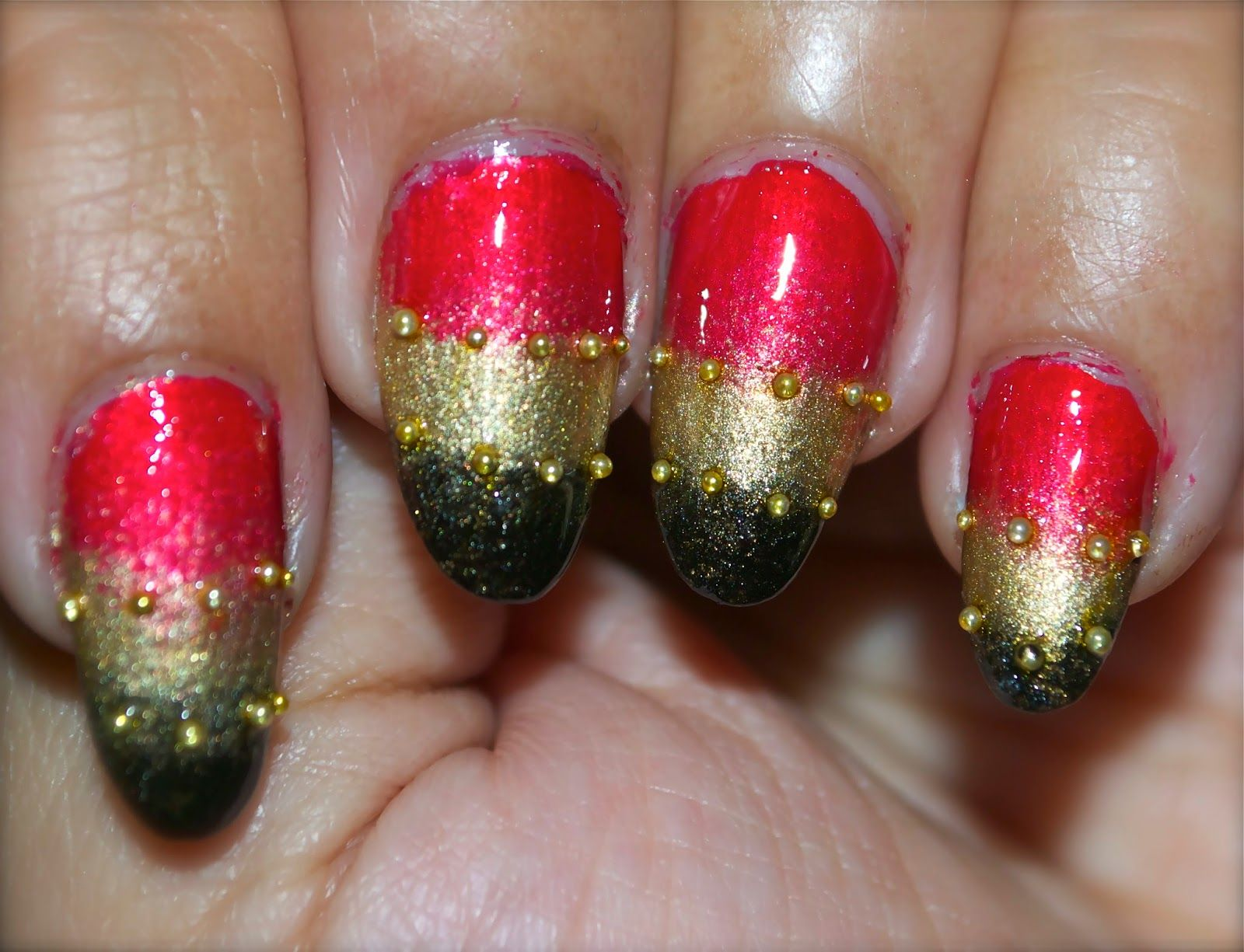 Gorgeous Nails Easy Ombre Nails Design For Holiday Special Occasion