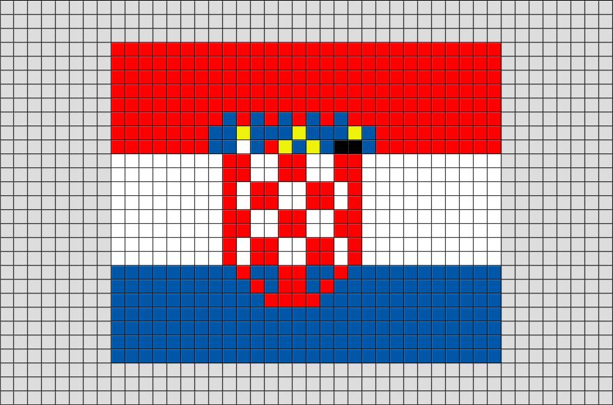 Pixel Art Drapeau Portugal