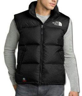 Cheap Men North Face Nuptse Down Vest Black uk http://www ...