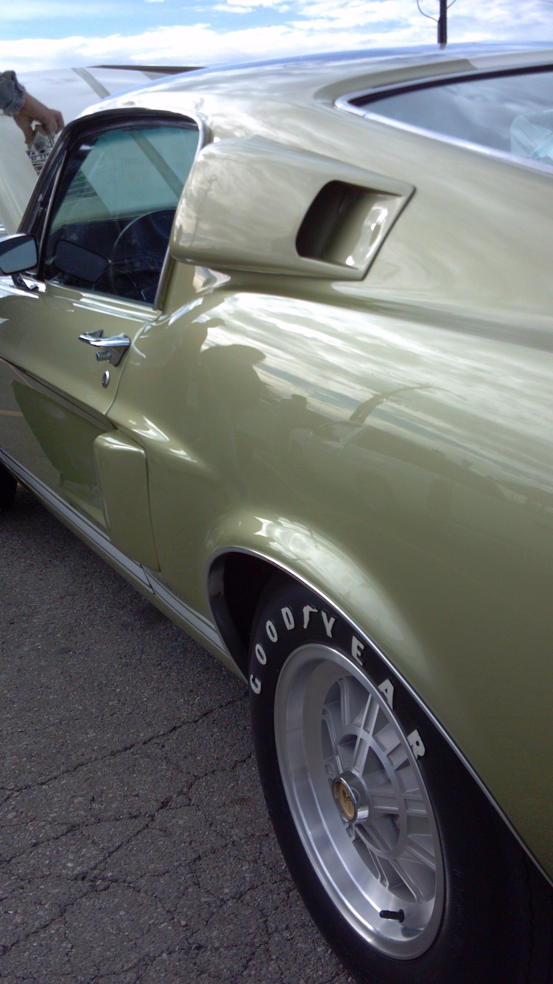 1968 Lime Gold GT 500 KR e bring your hot car to any location