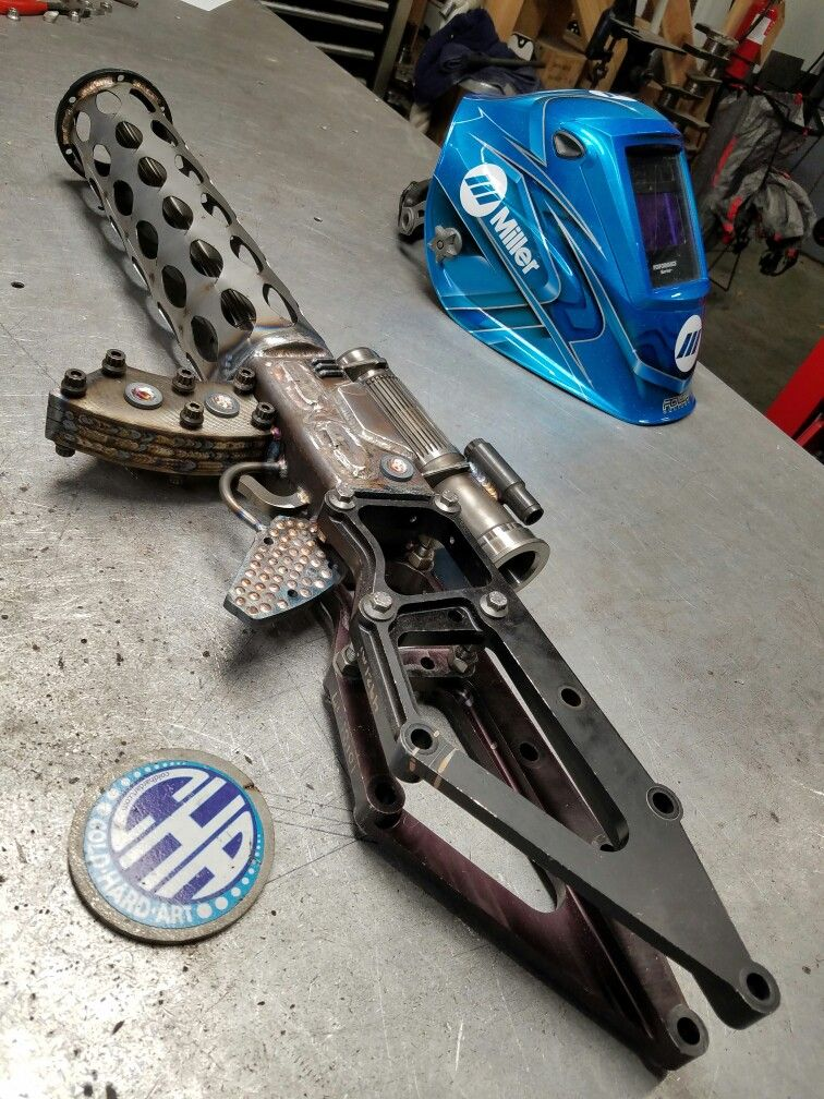 2044 cha assault rifle gun weapon of choice Scrap metal