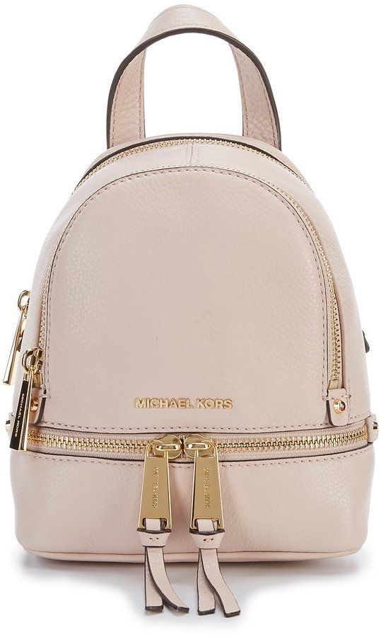 MICHAEL Michael Kors Rhea Mini Zip Backpack  849a9b40849c2