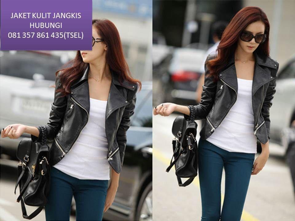 koleksi jaket wanita kulit terbaru