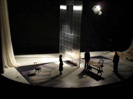 Copenhagen Delaware Theater Company Scenic Design By Mimi Lien 2009 Set Design Theatre Scenic Design Scene Design