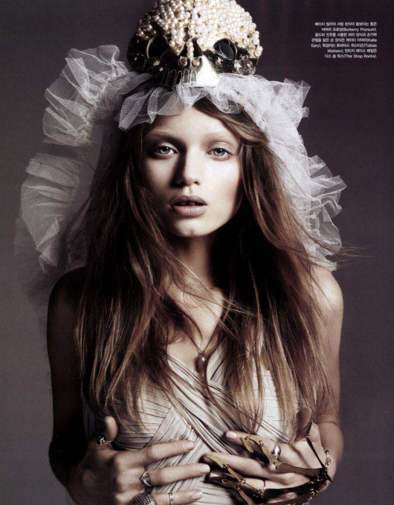 Abbey Lee Kershaw by Rafael Stahelin in Lovely Bones: Vogue Korea