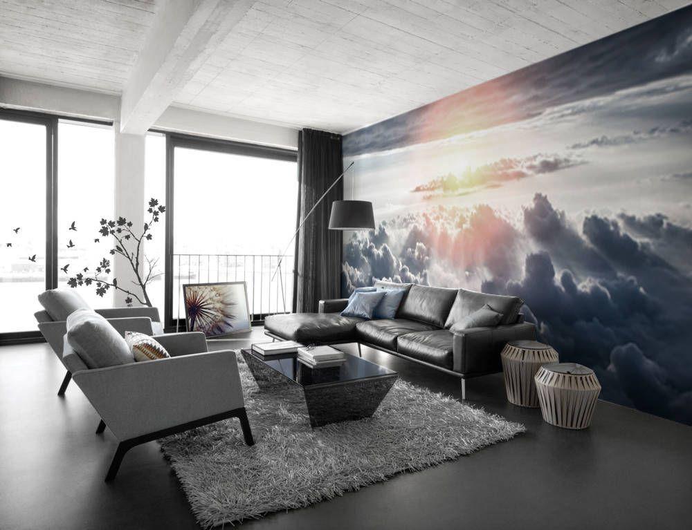 Dreams come true Living room Contemporary Wall Murals