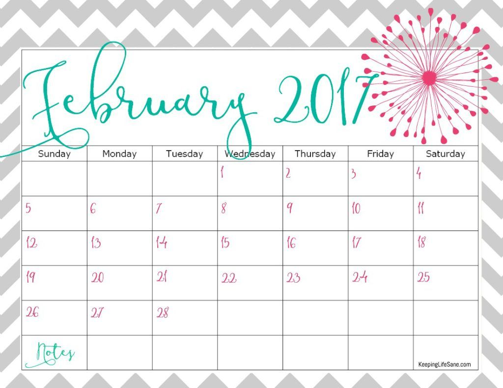 Free  Printable Calendar  Free Calendar Love And I Love