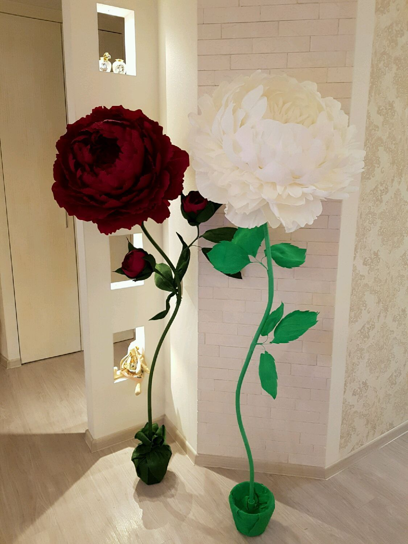 Цветы из цветной бумаги своими руками пошаговая фото 84