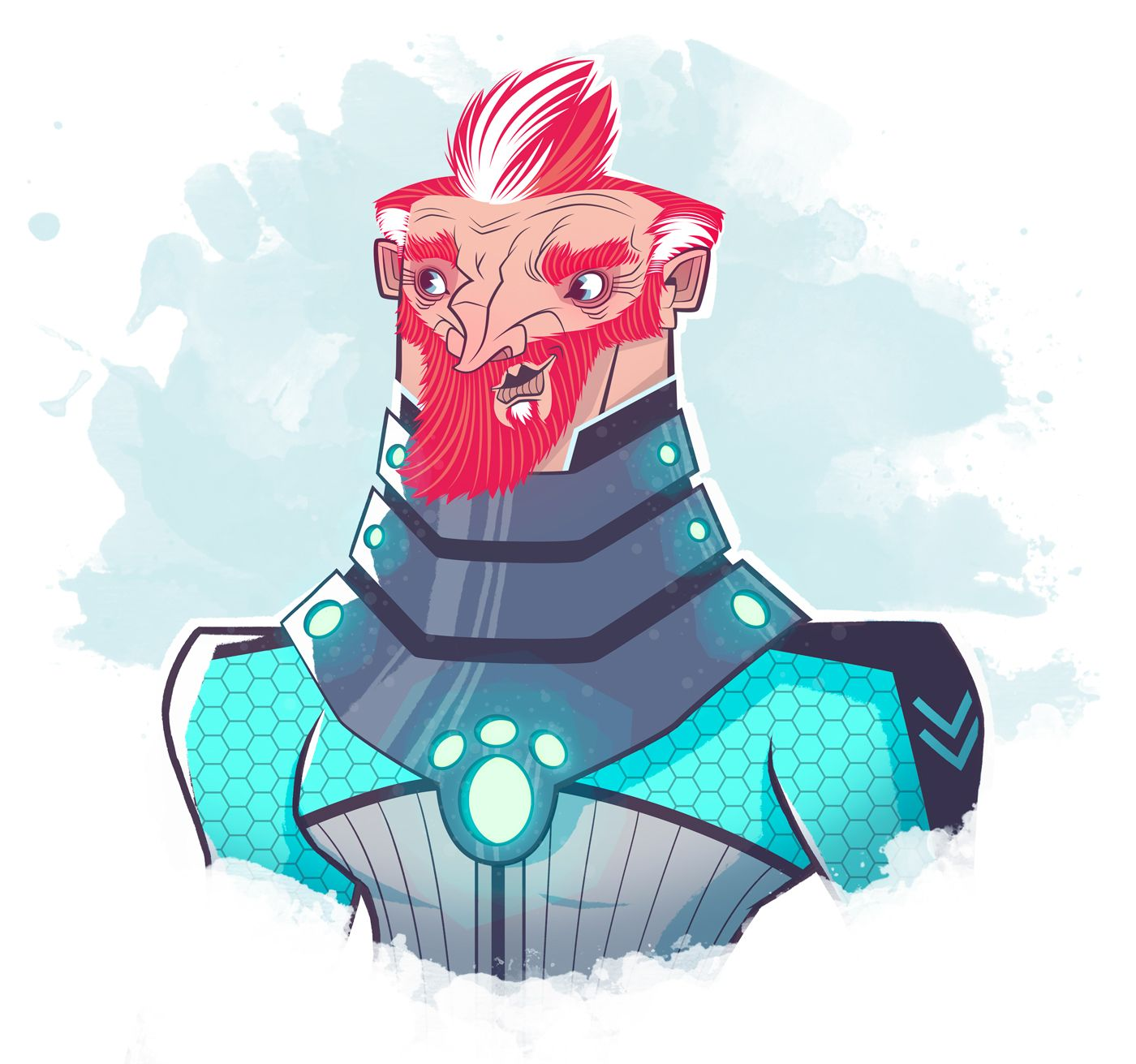 Captain Nemo | Character Design on Behance - Hector Borboa