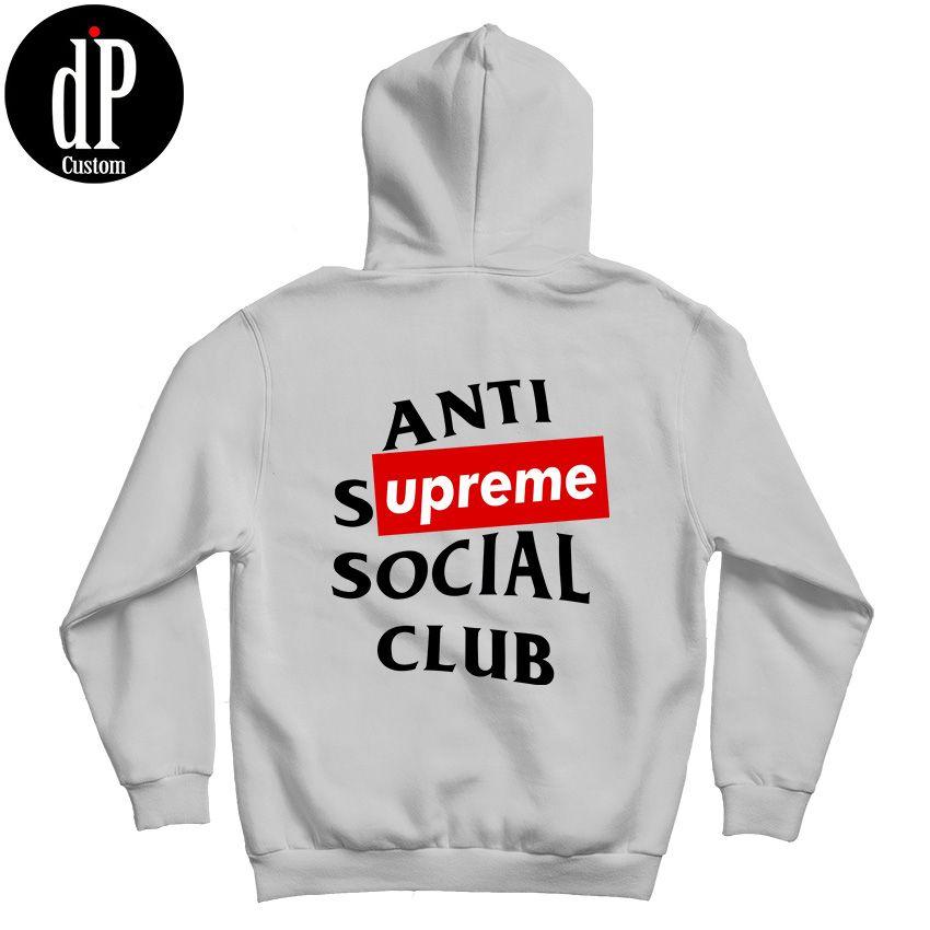 Anti Social Social Club X Supreme Hoodie Design By Digitalprintcustom Supreme Hoodie Hoodies Anti Social Social Club